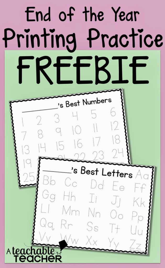 Free Handwriting Practice Sheets
