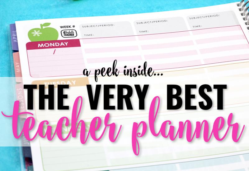 The Best Teacher Planner Ever – A Peek Inside!