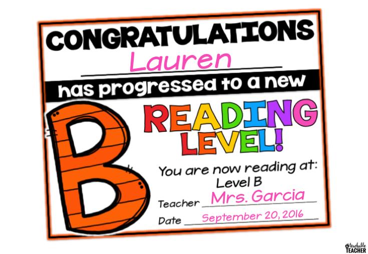 Free Reading Award Certificates