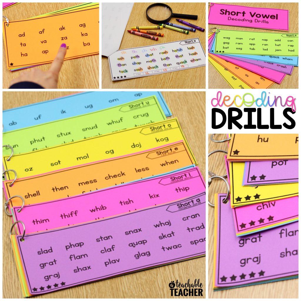 Decoding Drills for Fluency