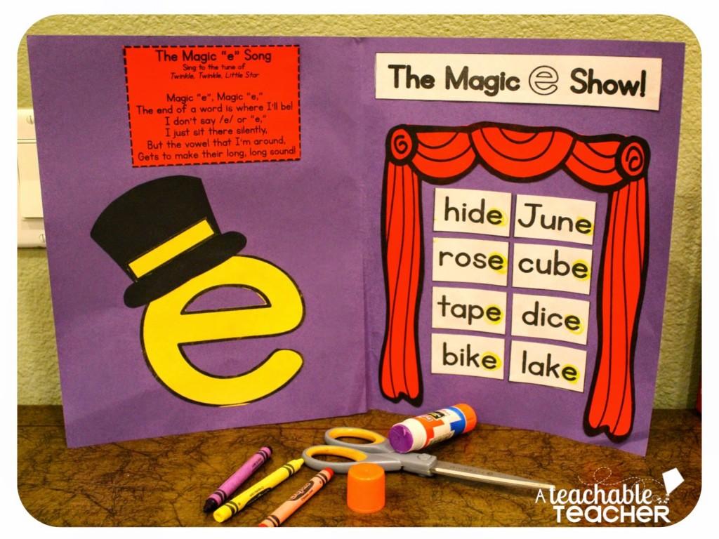 Teaching Cvce With Magic E A Teachable Teacher