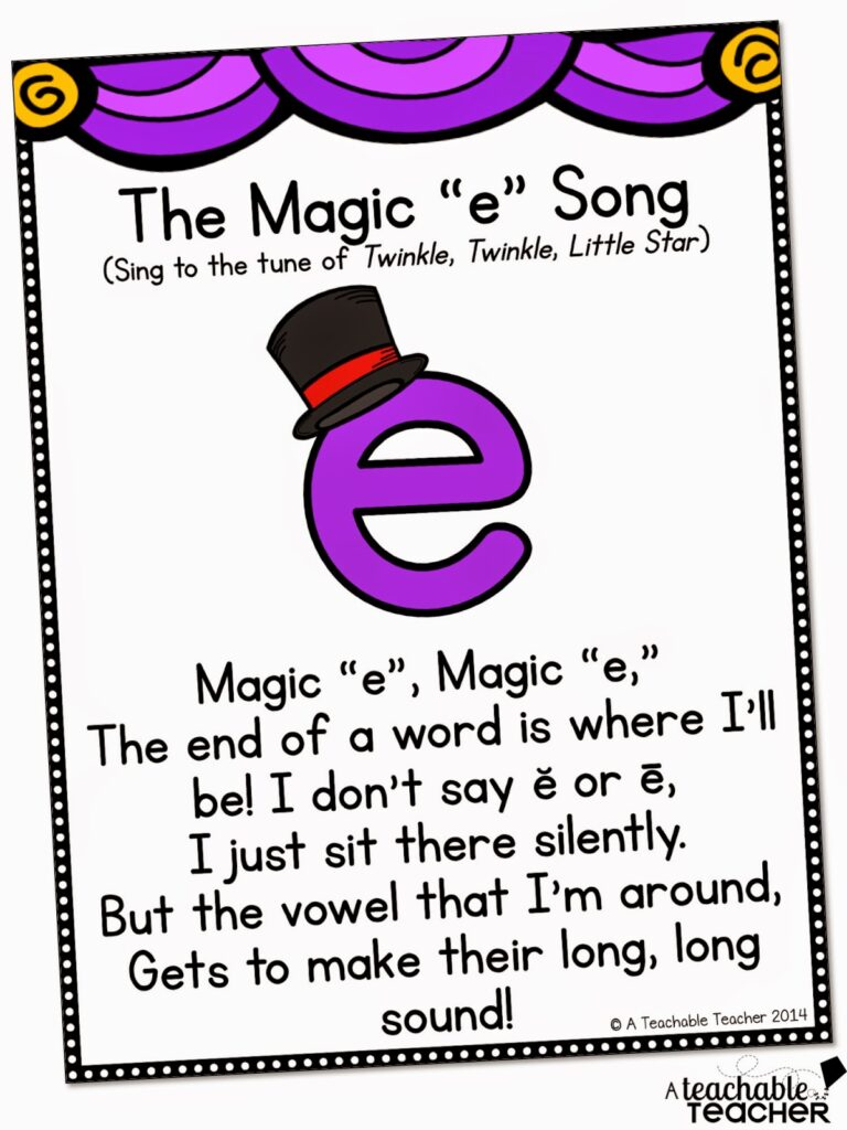 magic e song