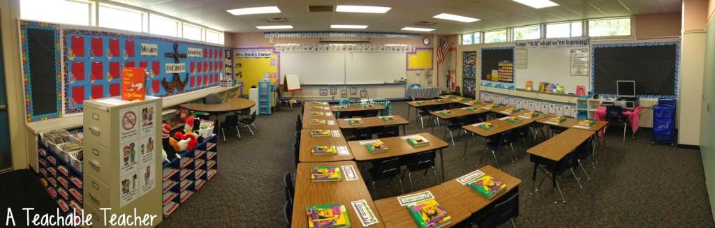 My Back to School Classroom 2014