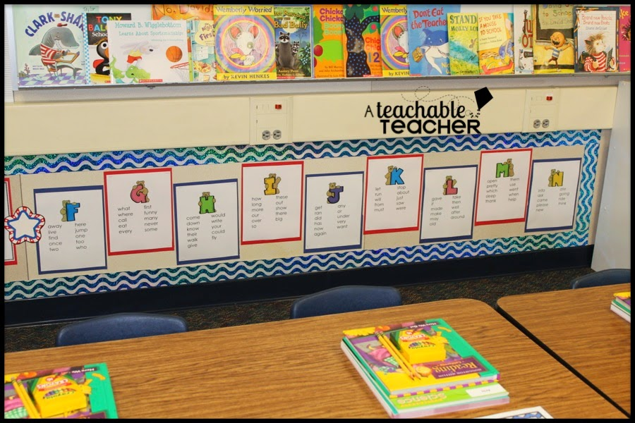 district-wide first grade sight word lists