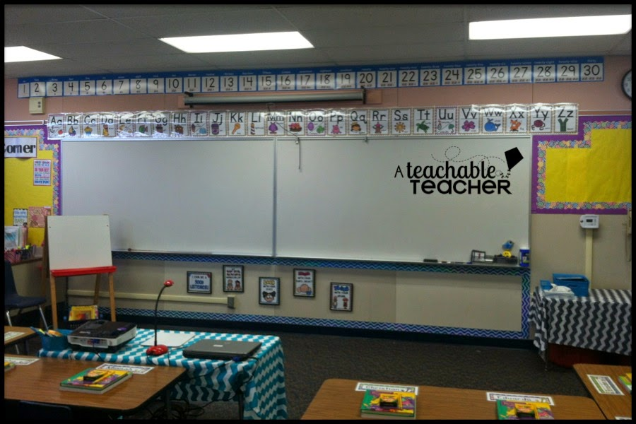 front of my classroom