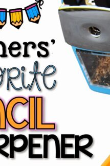 best pencil sharpener for the classroom