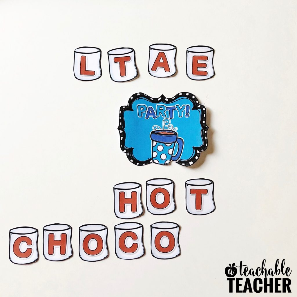 classroom hot chocolate party