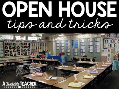 Open house tips and tricks a teachable teacher for Home building tips and tricks