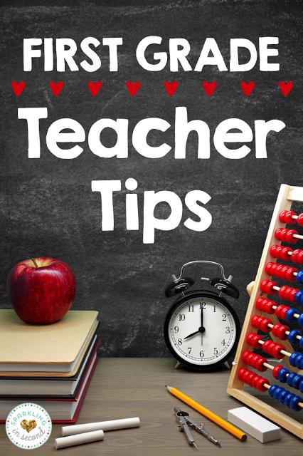 tips for 1st grade teachers