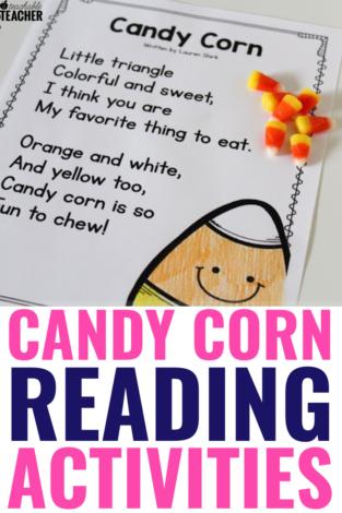 halloween candy corn poem | Free Candy Corn Reading Activities your Students will Love
