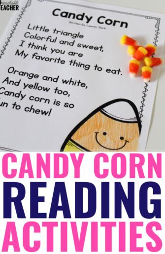 halloween candy corn poem