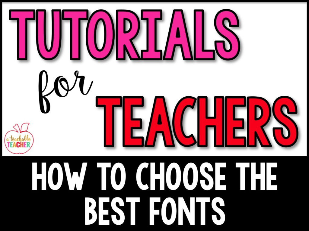 How to Choose the Best Fonts