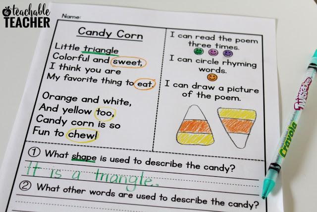 fun halloween-themed reading activity