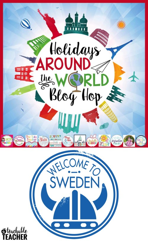 Holidays around the world blog hop