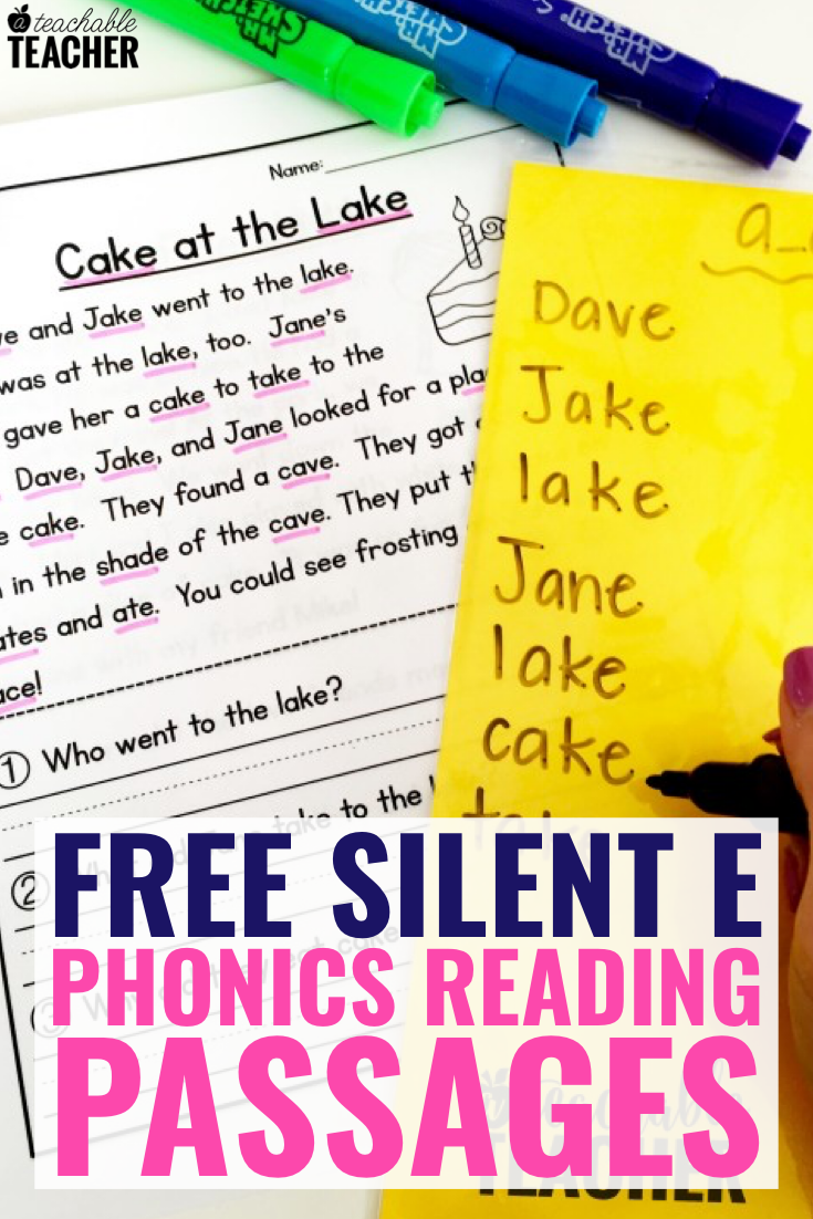 Free Phonics Reading Passages Students Love To Read