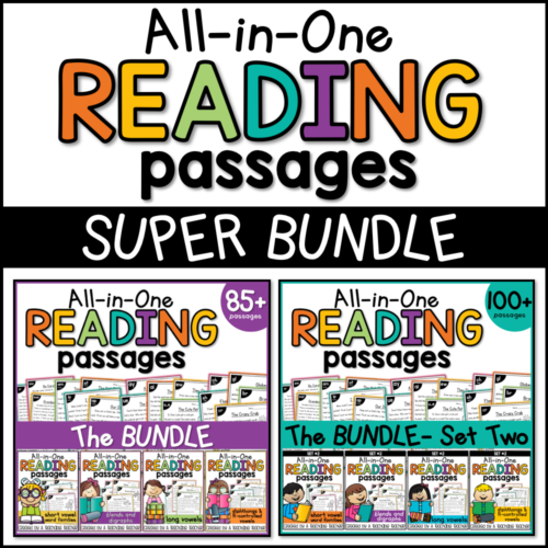 phonics reading passages