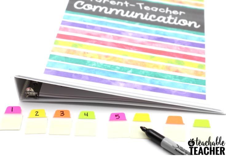 parent teacher communication log free download