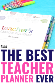 best teacher planner