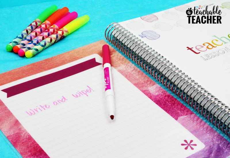 the best teacher planner by erin condren