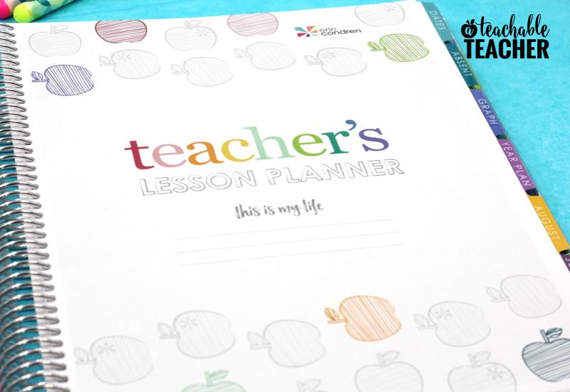 The Best Teacher Planner Ever - A Peek Inside! - A Teachable