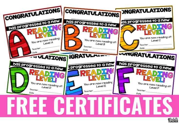 picture regarding Free Printable Reading Certificates identified as No cost Examining Award Certificates - A Teachable Instructor
