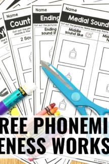 printable phonemic awareness activities