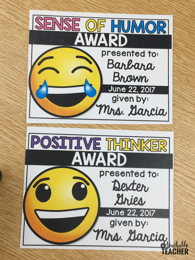 emoji awards