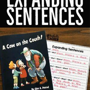 Expanding Sentences Activity
