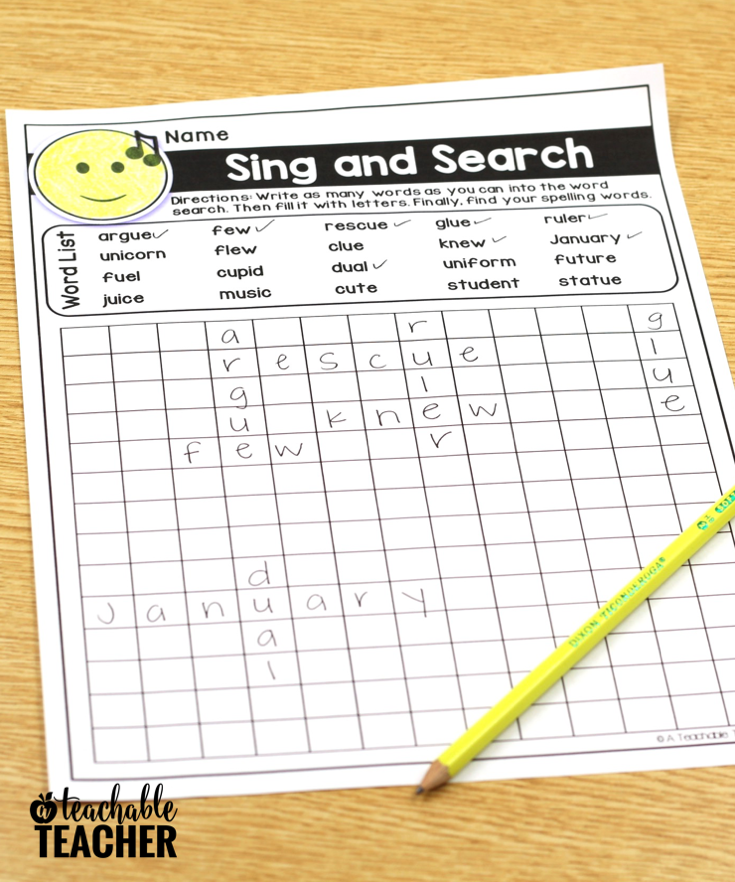 sing and search