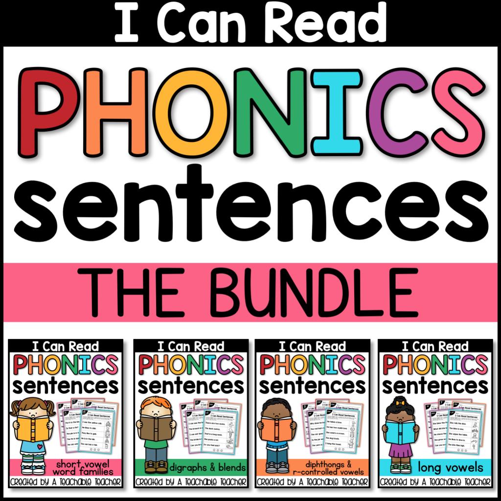 phonic practice reading bundle