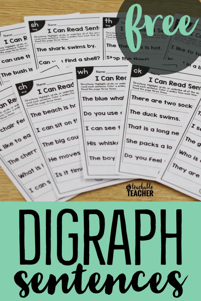 free digraph sentences