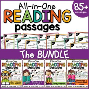 phonics reading oassages