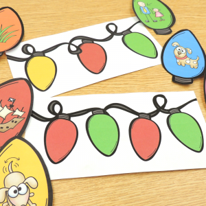 Festive Christmas Phonemic Awareness Activity