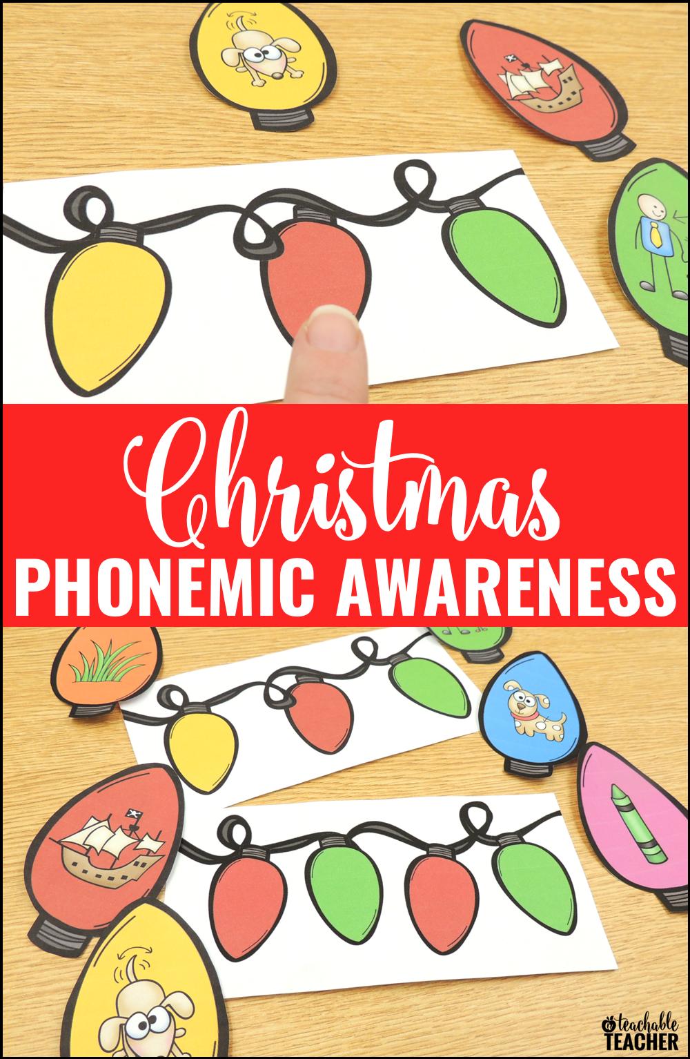 christmas phoneme game