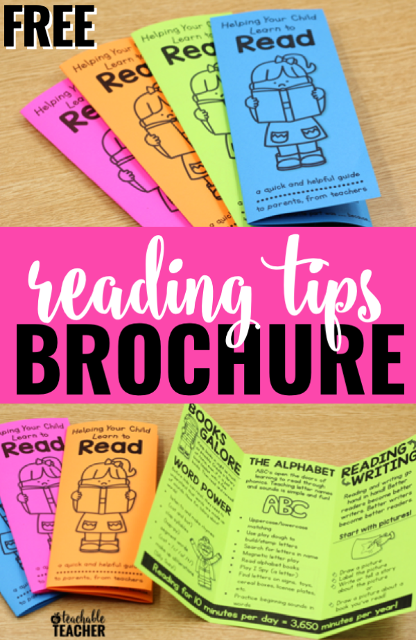 reading tips for kindergarten parents