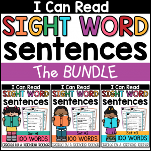 sight word sentences tpt