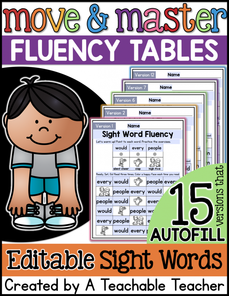 sight word worksheets tpt