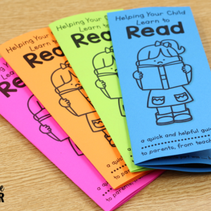 FREE Reading Tips Brochure – to Parents from Teachers