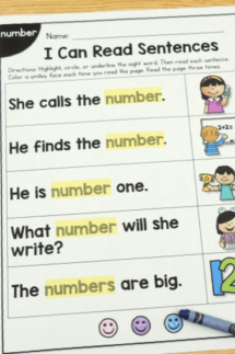 tpt sight word worksheets