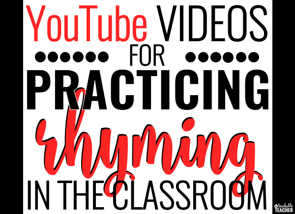 rhyming videos for the classroom