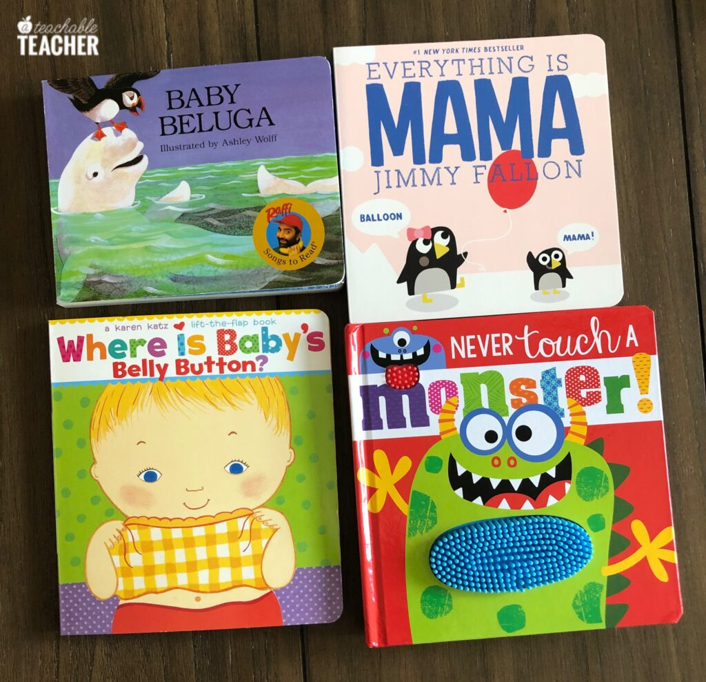 favorite books for babies 0-12 months