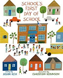 school's first day of school read aloud book