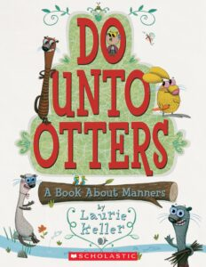 back to school book about manners