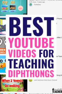 diphthongs videos