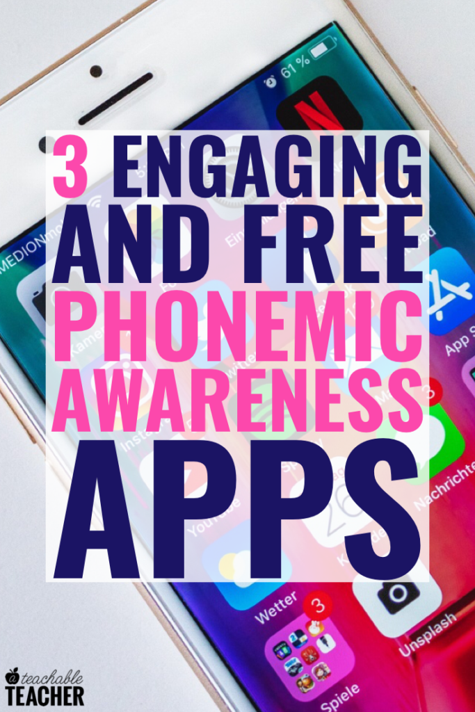 phonemic awareness apps free