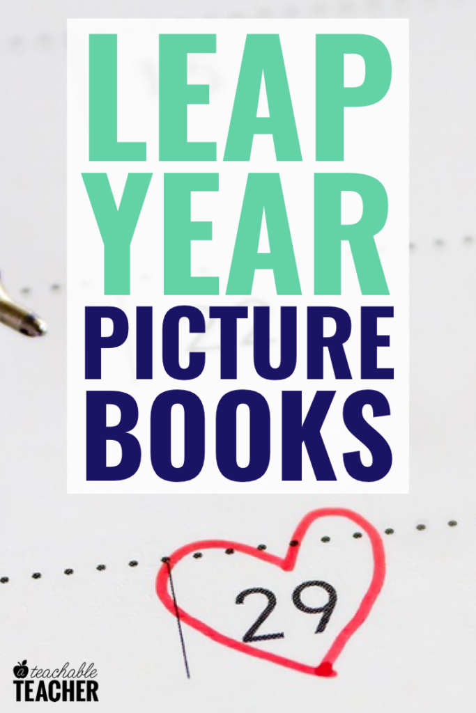 picture books for february 29 leap day