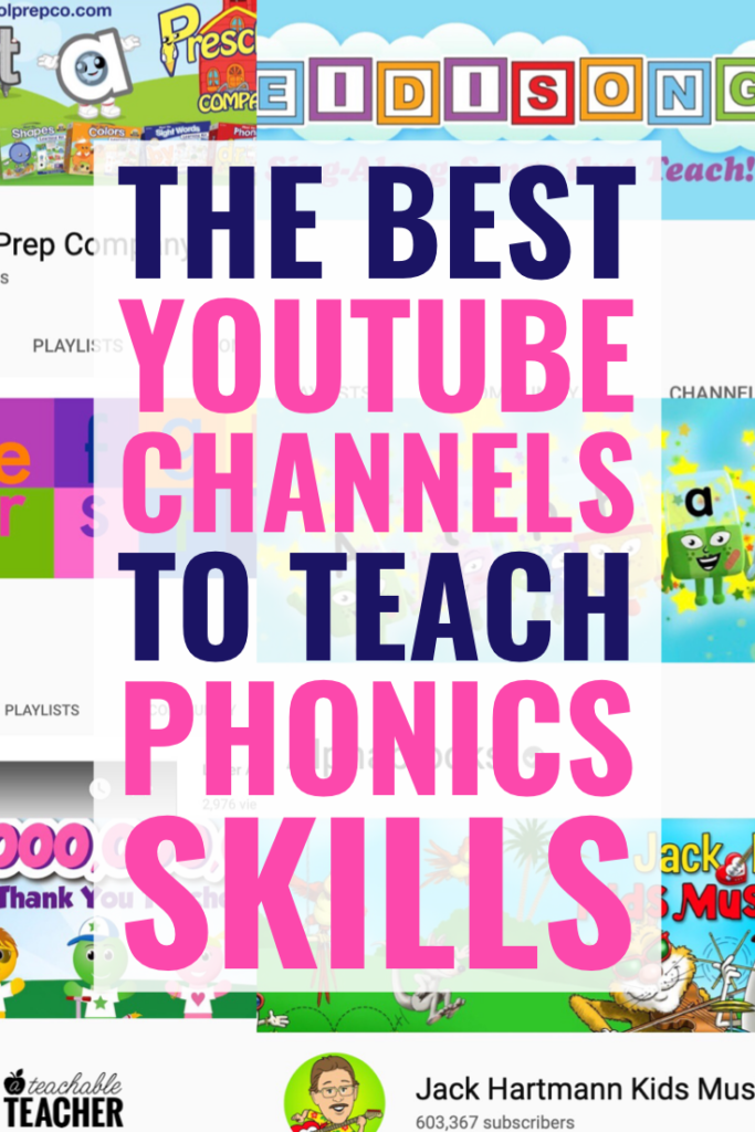 phonics youtube channels