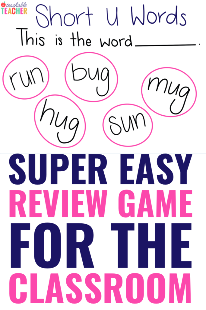 review game for the classroom
