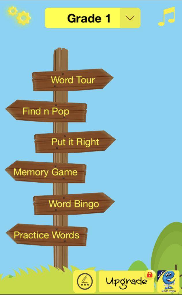 sight word app