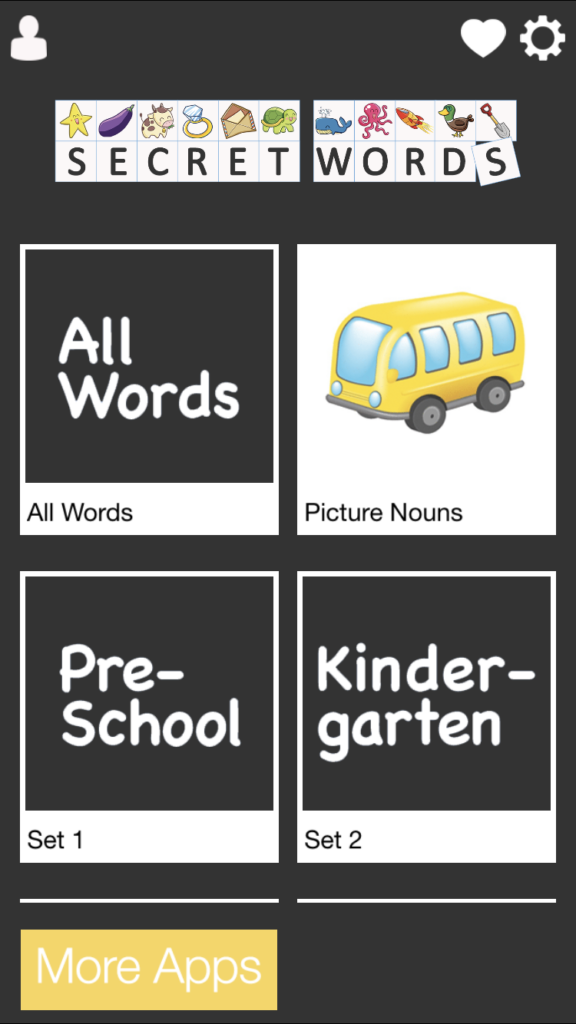 fun sight word app
